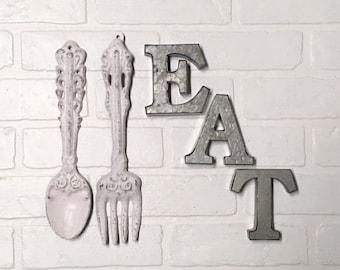 Eat Wall Decor Etsy