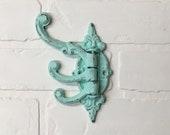 Coat Hook-Single Hook, Towel Hooks, Wall Hooks, Shabby Chic Hook, The Shabby Store, Vintage Wall Hooks, French Country Hook, Towel Holder