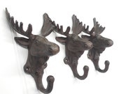 Wall Hook, Moose, Towel Hook, Coat Hook, Moose Hook, Moose Décor, Moose Nursery, Moose Hooks, Rustic Wall Decor, Shabby Store
