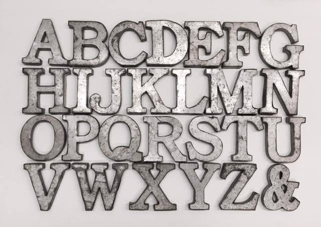metal letters small metal letters wall letters metal etsy