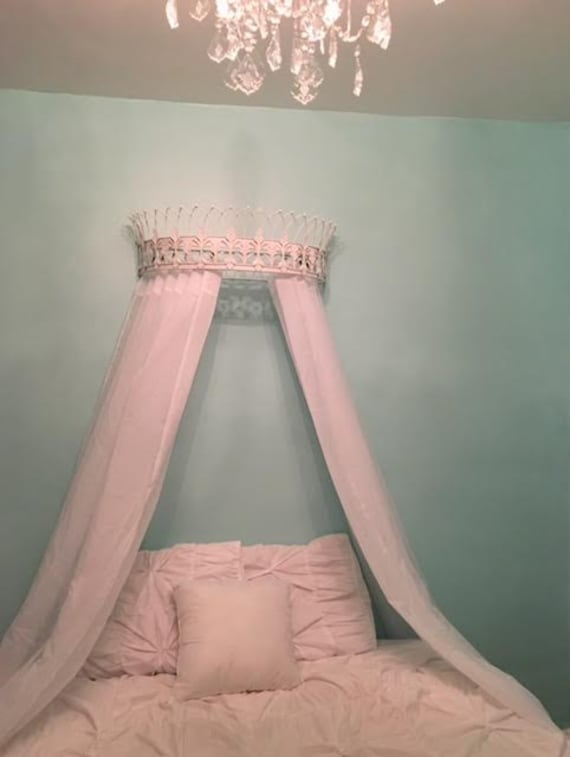 Crown Canopy Bed Canopy Bed Crown Wall Crown Crown Wall Etsy