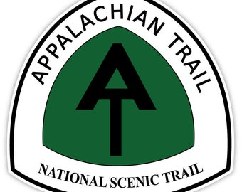 Appalachian Trail National Scenic Trail sticker decal