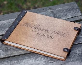Wedding Album, Wood Photo Album, Photo Album, Photo Guest Book, Custom Wedding Album, Wedding Guest Book, Wedding, Guest Book Ideas