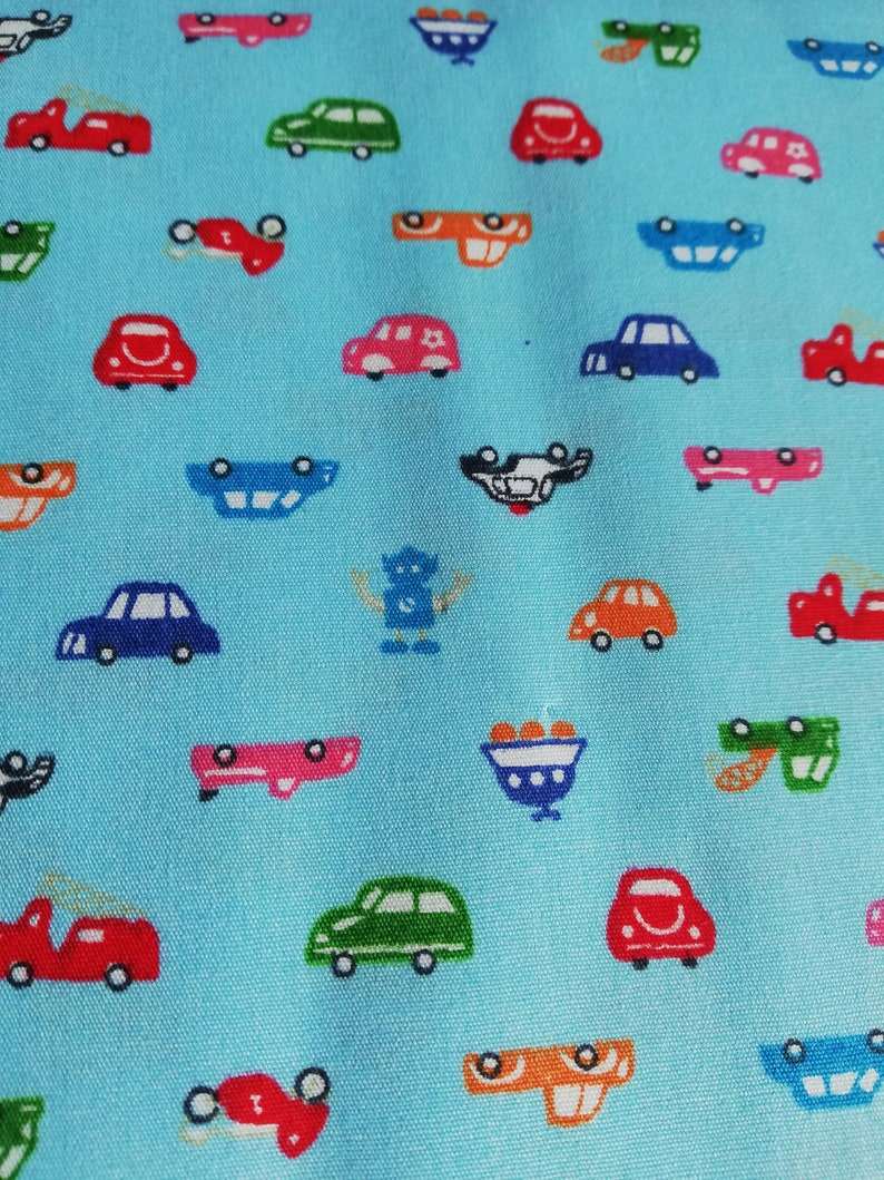 0a1f1f0b08643 Kids fabric, childrens fabric, baby fabric, Car fabric - cotton print  Fabric, by the metre, by the yard, tractors fabric, craft supplies.