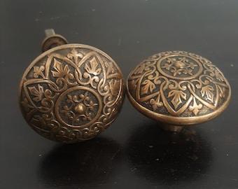 Heart and Scroll Vintage Doorknob Set 530750