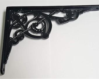 Victorian Cast Iron Shelf Brackets 5601