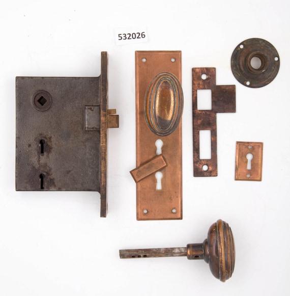 Solid Bronze Antique Entry Door Set 532026 Etsy