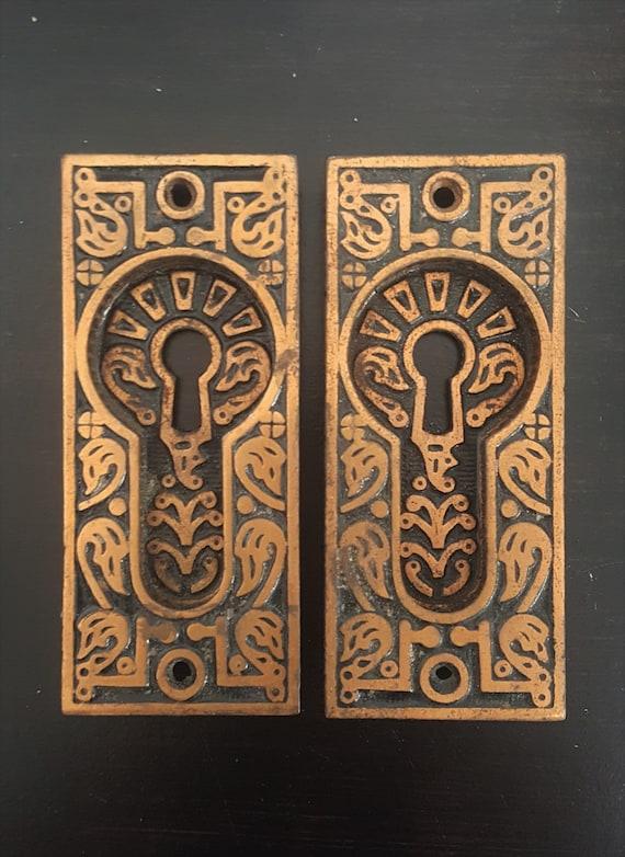 image 0 - Swan Head Antique Pocket Door Pulls 530811 Etsy