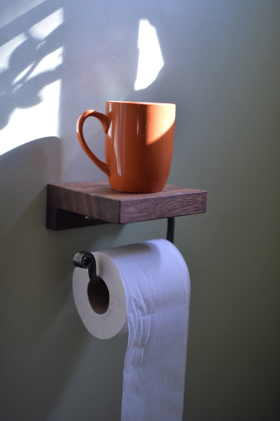 The World S First Practical Toilet Paper Holder Custom Etsy