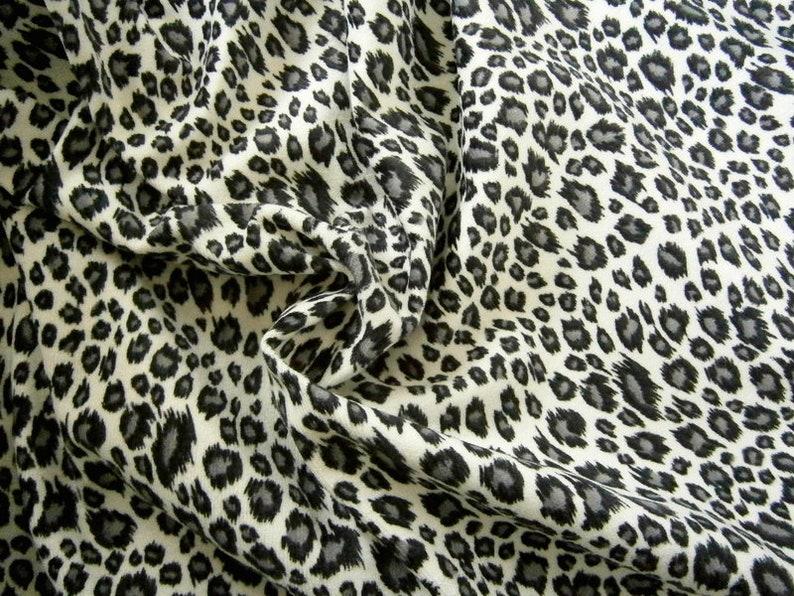 Trendy costume fabric Leo animal print