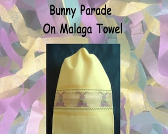 Bunny Parade on Malaga Towel Kit