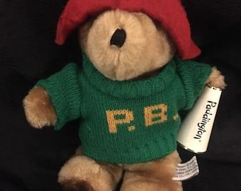 1368684789b Vintage Eden Plush Paddington Plush Bear 8