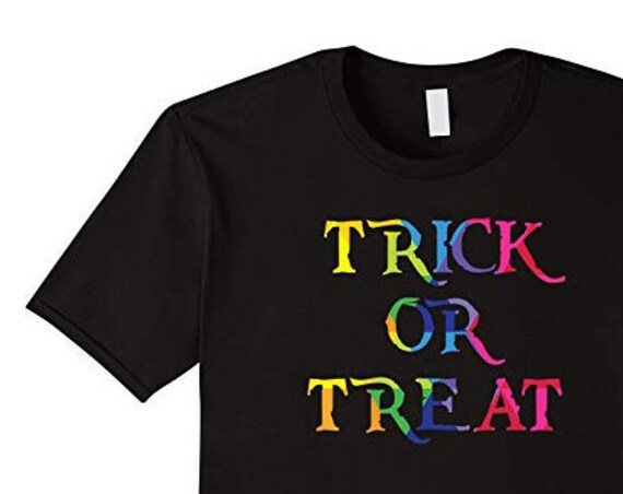 Trick or Treat Tshirts Colorful Halloween Apparel Unique Family Tees Halloween Gifts for Him or Her Smell My Feet Song