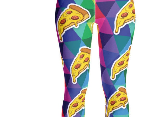 Pizza Yoga Leggings