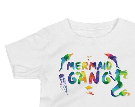 Mermaid Gang Baby Jersey Short Sleeve Tee Mermaid Life