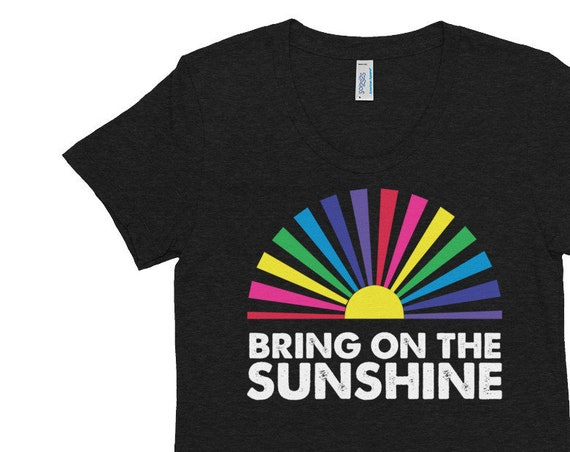 Bring on the Sunshine Women's Crew Neck T-shirt