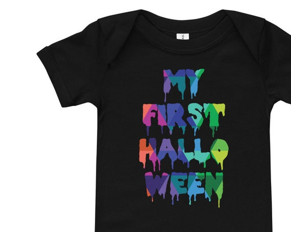 First Halloween Baby Bodysuit T-Shirt