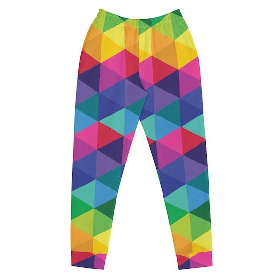 Colorful Multicolored Women's Joggers