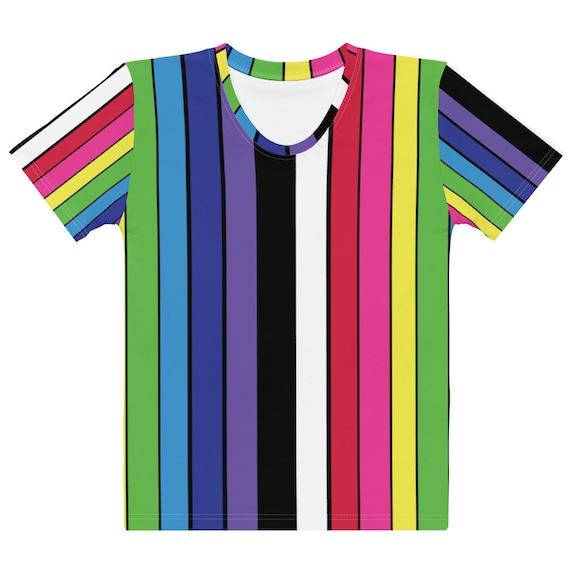 The Striped Women's T-shirt