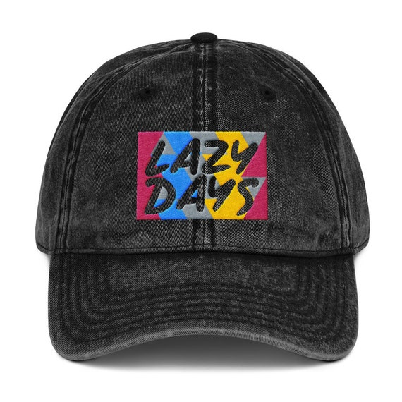 Lazy Day Vintage Cotton Twill Cap