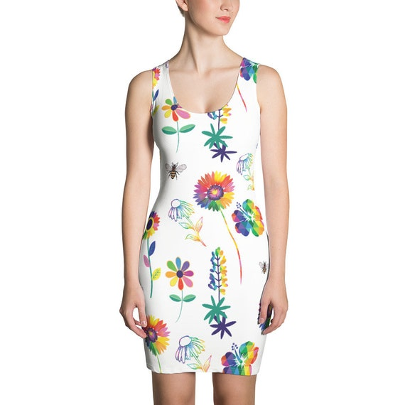 The Floral Collection: Spring Flowers Dress