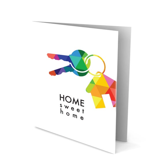 Handmade Greeting Card - Keys and Your New Home