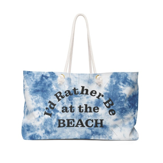 The Beach Collection: I'd Rather Be at the Beach Weekender Bag