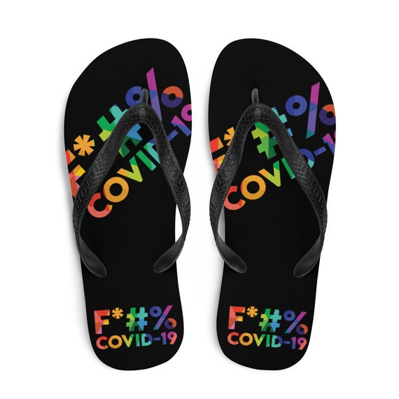 The Best Colorful Flip-Flops Ever for the Beach or the Pool - Rainbow Words for the Rebel Hippie