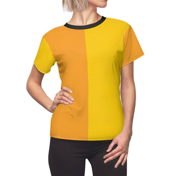 Cute Mustard Two Toned Women's Tee