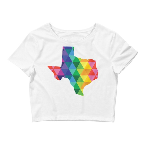Women's Crop Texas Tee