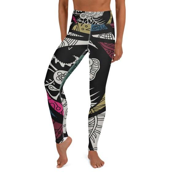 Mosaic Yoga Leggings Design by BeachBum