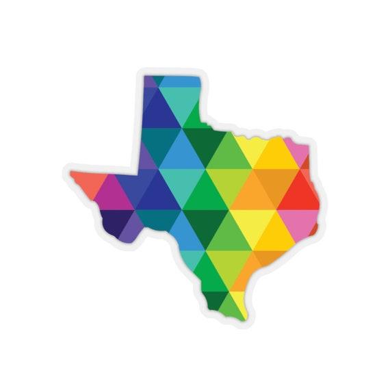 Texas Kiss-Cut Stickers