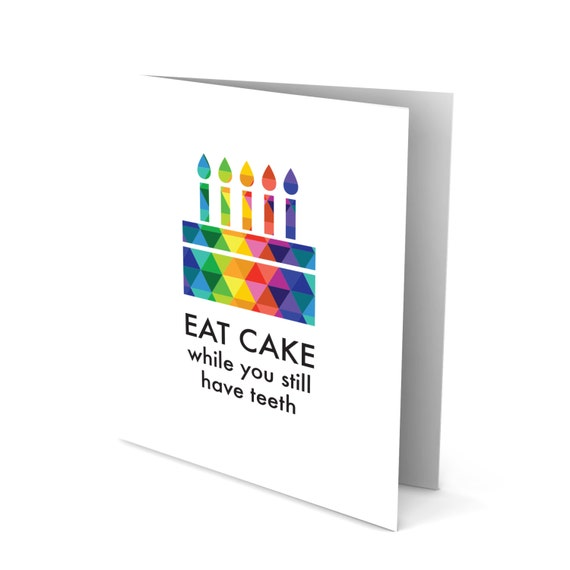 Fat Cake Greeting Card!