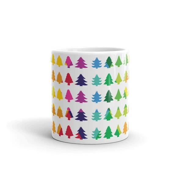 Christmas Tree Mug Unicorn Find for the Coffee Tea or Hot Cocoa Drinker Give as a Present