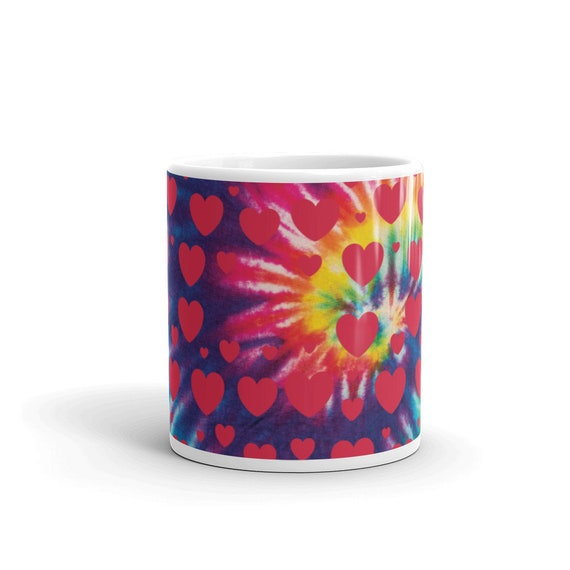 Tie Dye Collection: Love Goes Around Mug
