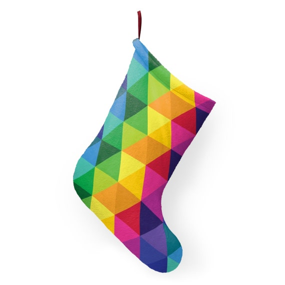 Colorful Christmas Stockings