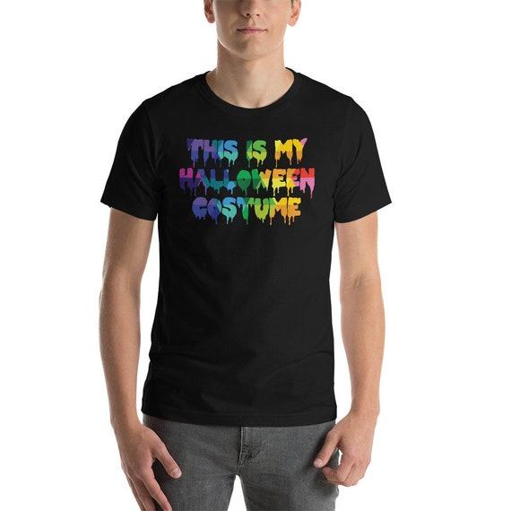 Funny Tshirt This is My Halloween Costume Short-Sleeve Unisex T-Shirt