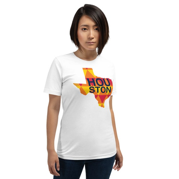 Houston Astros Orange Short-Sleeve Unisex T-Shirt