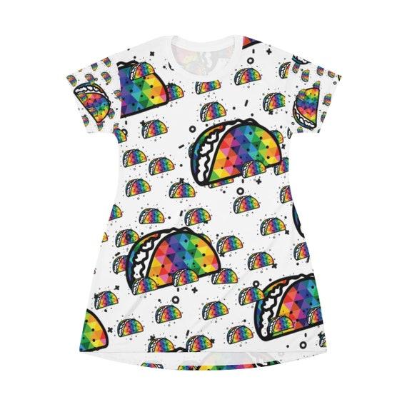 Taco T-shirt Dress