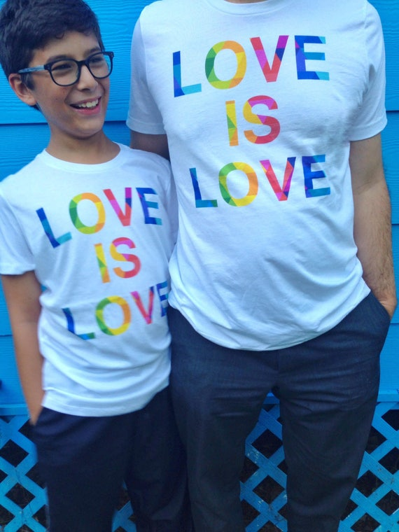 Special Edition! Love is Love Rainbow Pride Tshirt Gay Lesbian Tees LGBT Equality Apparel Love Gifts Unisex Shirt