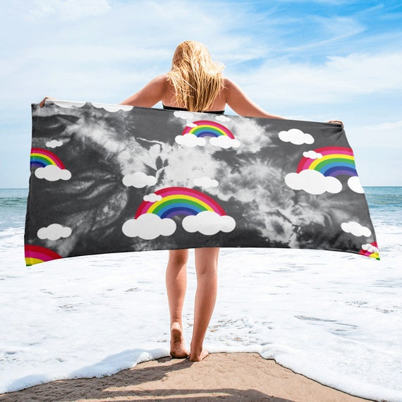 The Tie Dye Collection: Rainbows Galore Towel