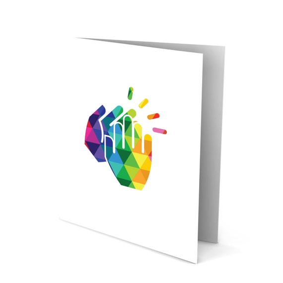 Clapping My Hands for You Greeting Card