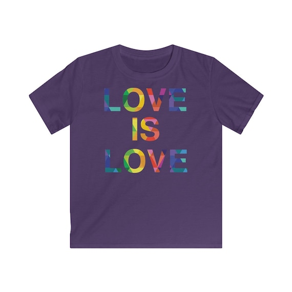 Love is Love Kids Softstyle Tee