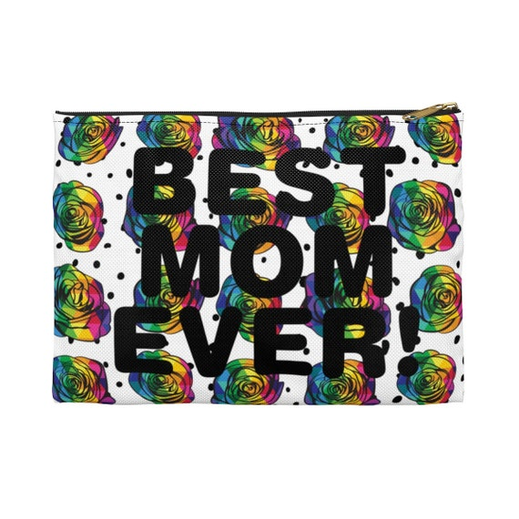 Mother's Day Collection: Rainbow Rose Accessory Pouch