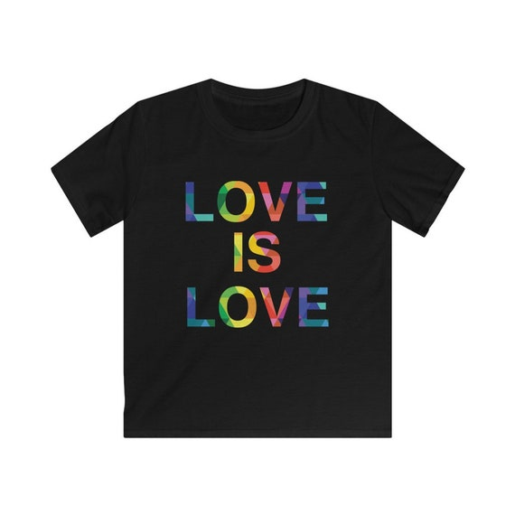 Love is Love Kids Softstyle Tee