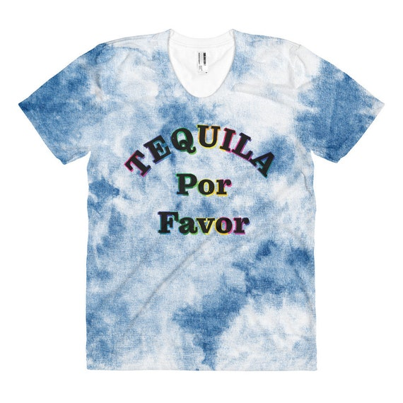 Tequila Rainbow Por Favor Women's T-shirt - Order One Size Up for a Looser Fit
