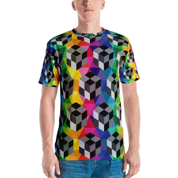 Men's T-shirt Cube Tshirt