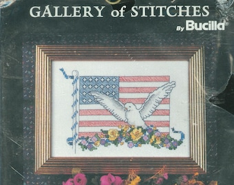 Patch NIP DIY Counted Cross Stitch Kit by Suzy Spafford 5 x 7 2002 After 40 It/'s Just Patch Janlynn Suzy/'s Zoo Kit 038-0190 Patch