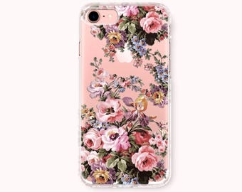 Floral iPhone 8 Case, iPhone 8 Plus Case, iPhone 7 Case, iPhone 6/6S Plus Case, iPhone 5/5S/SE Case, Galaxy Note8/S8 Case - Gorgeous flowers
