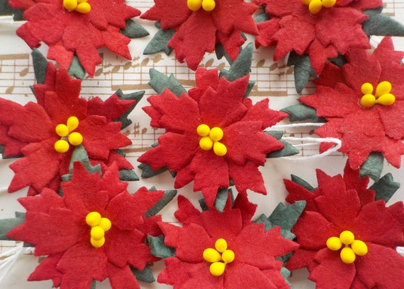 100 paper poinsettias handmade mulberry paper poinsettia flowers 100 paper poinsettias handmade mulberry paper poinsettia flowers christmas card making paper embellishments red paper flowers from whiteelephantcrafts mightylinksfo